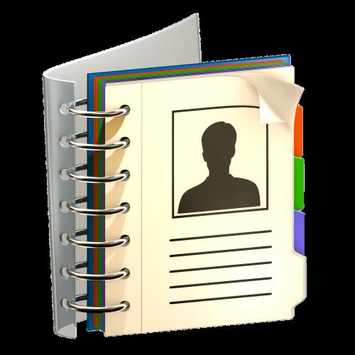 time address book communication