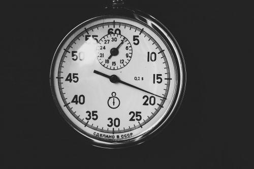 time stopwatch clock