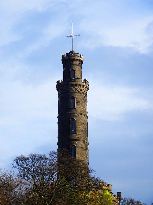 time ball  tower  calton hill
