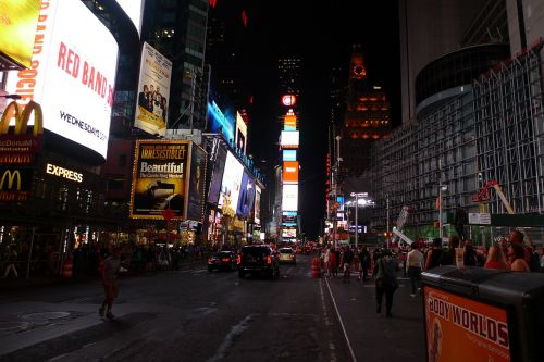 time square new york broadway
