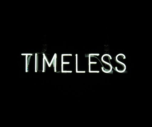 timeless  typography  font