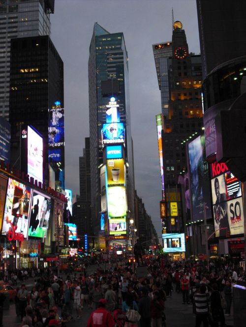 times square new york city big apple