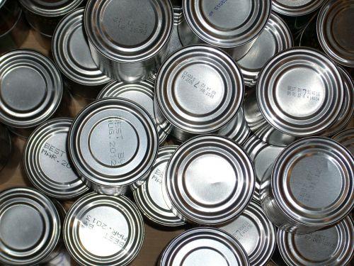 tin cans food tin