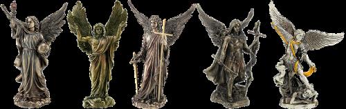 tin figures angel tin