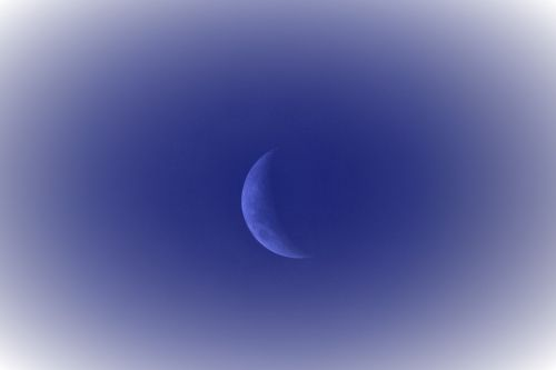 Tinted Blue Moon