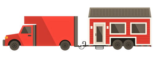 tiny house  clip art  tiny house on wheels