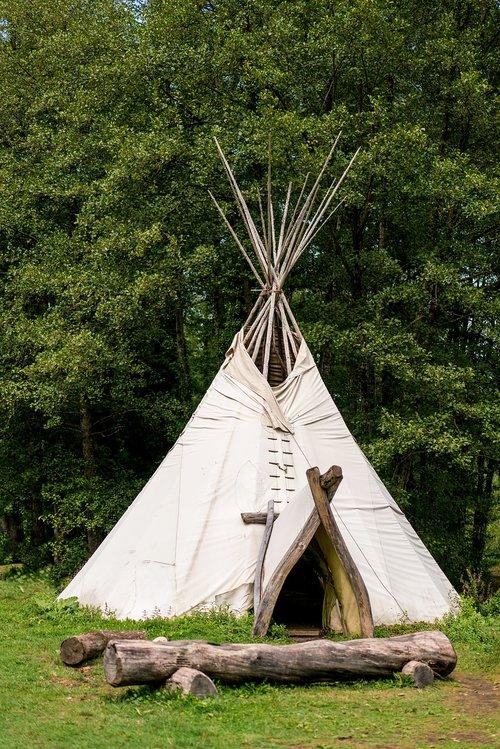 tipi  tent  indians