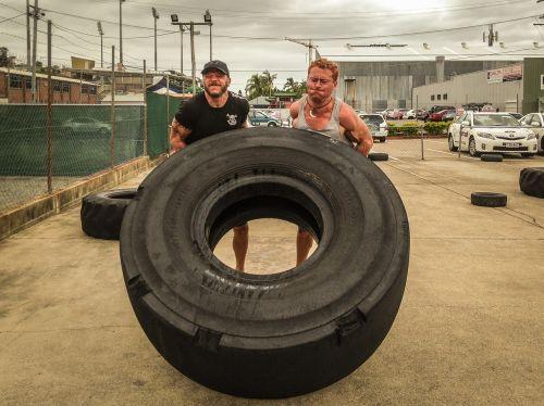 tire flipping tyre flipping training