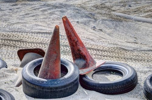Tires And Cones