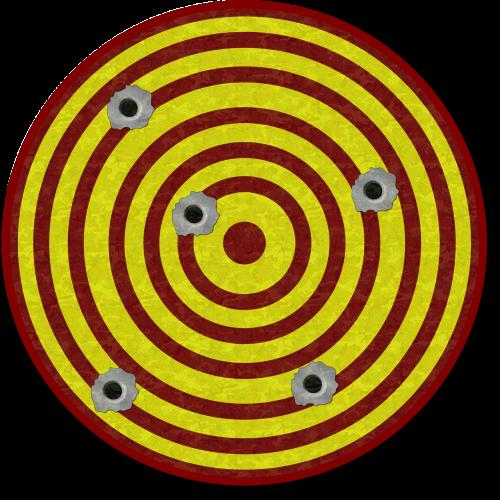 tiro target butt