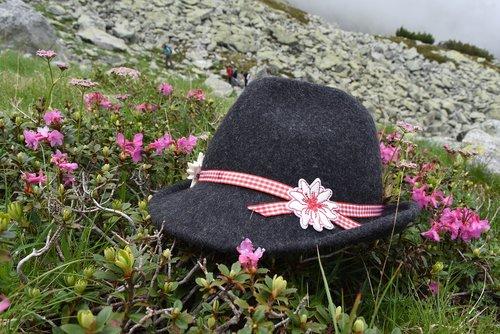tirol  hat  rhododendron