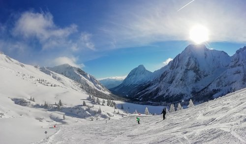 tirol  snow  skiing