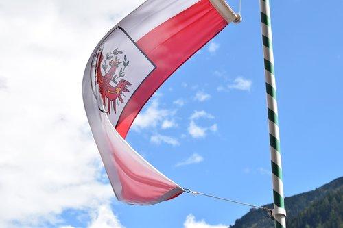 tirol  flag  austria