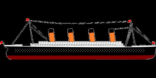 titanic ship boat