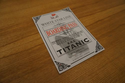 titanic ship navigation