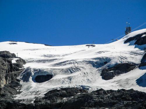 titlis mountain alpine