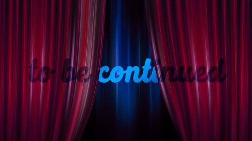 to be continued curtain theater