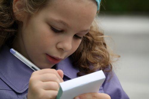 to write girl child