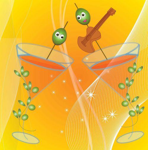 toast flamenco party olivas