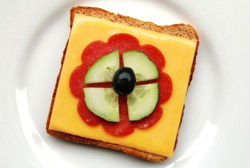 toast sandwich snack