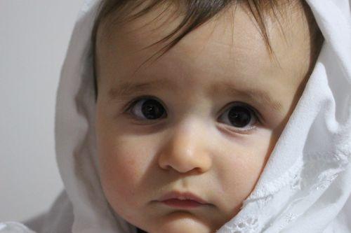 toddler innocent portrait