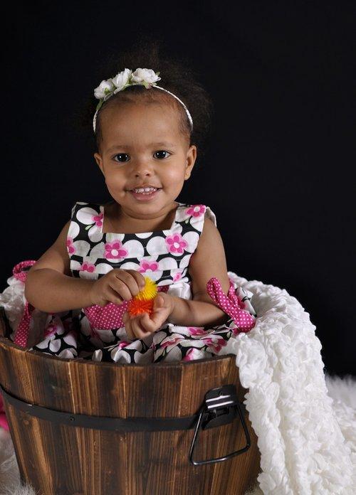 toddler  bucket  child