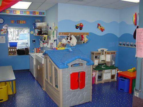 toddler room play kitchen kindergarden