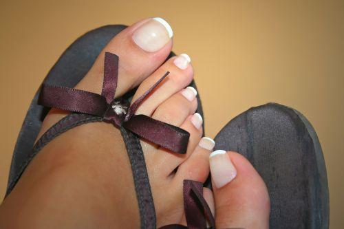 toe nails french nails nail varnish