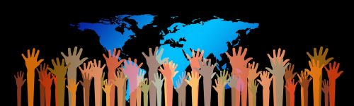kartu,žemė,žmogus,siluetai,visuotinis,pasaulis,žemynai,globalizacija,gaublys,visame pasaulyje,politika,žinios,prijungtas,socialinis,grupė,bendruomenė,komanda,kolektyvas,Draugystė,komandinis darbas,partnerystė,laikytis kartu,ryšys