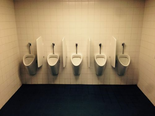 toilet men urinal