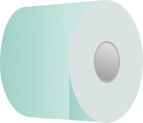 toilet paper roll paper