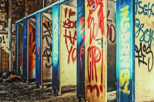 toilets public lost places