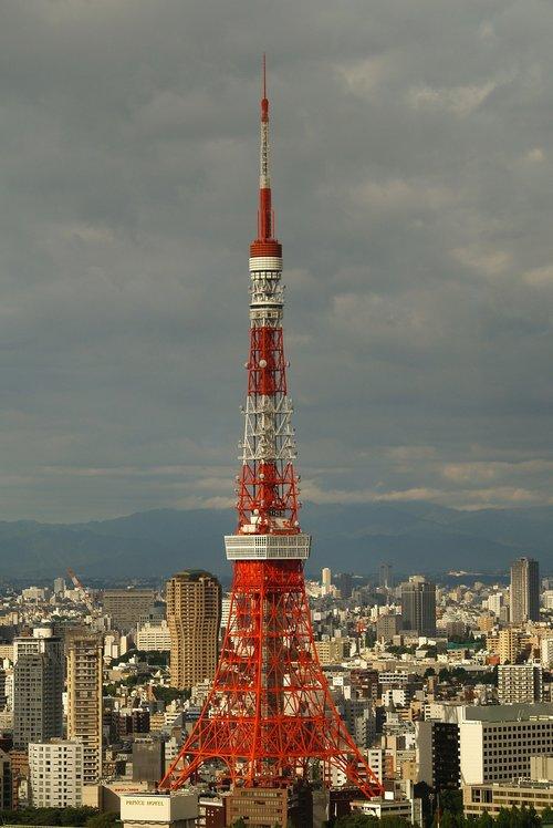 tokyo  tower  tokyo tower