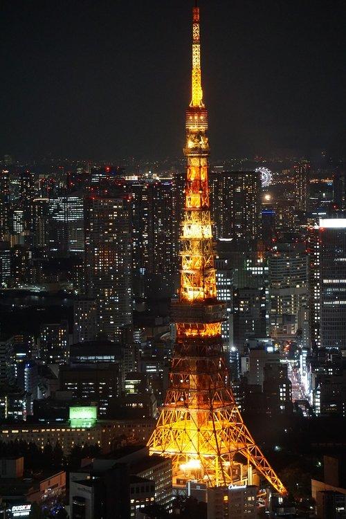 tokyo  toyko tower  japan