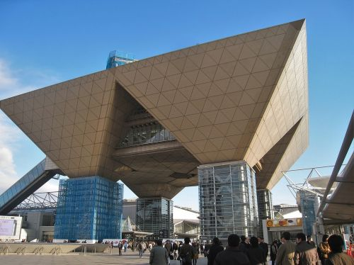 tokyo big sight japan building structure