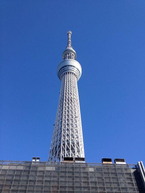 tokyo sky tree japan travel