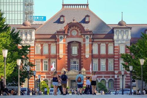 tokyo station  japan  japan tour