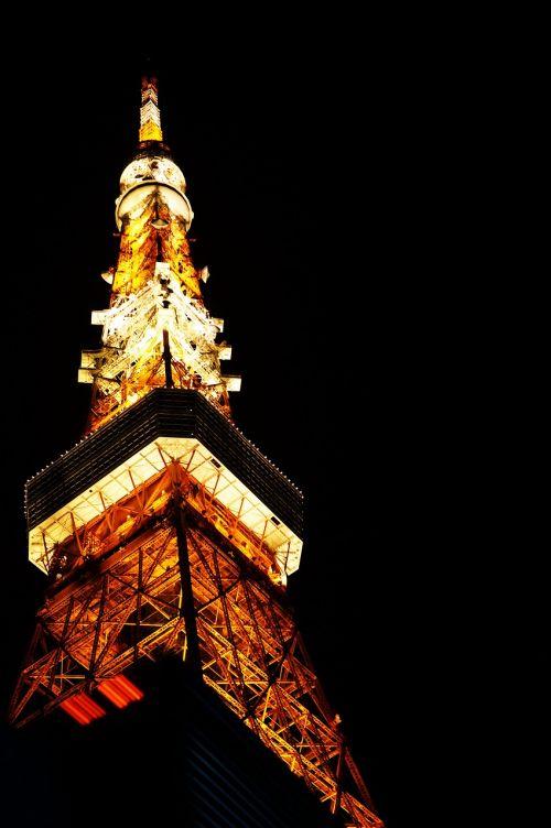 tokyo tower urban landscape city
