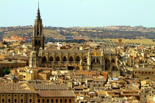 toledo spain spain cathedral