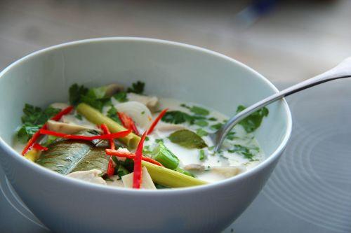 tom kha gai soup asia