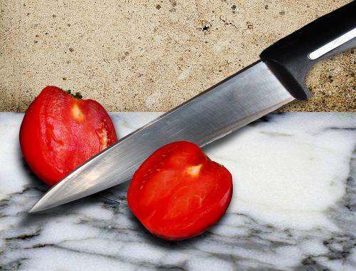 tomato cut knife