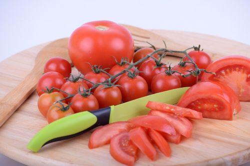 tomato cherry tomato cut tomato