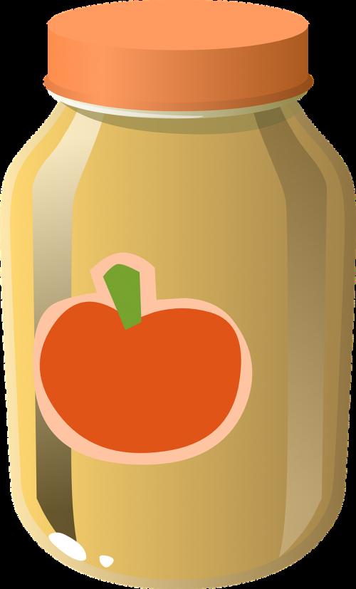 tomato sauce jar glass