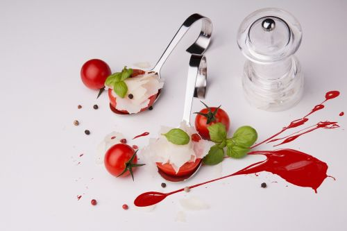tomatoes parmesan starter
