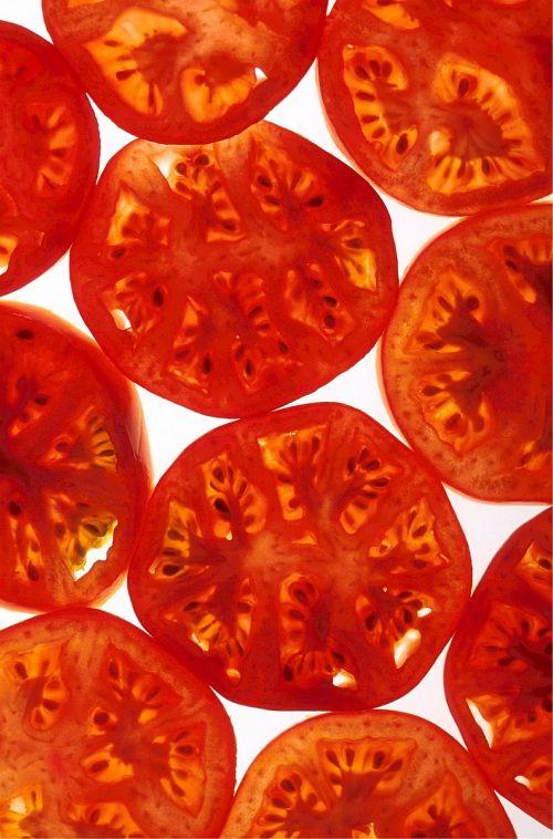 tomatoes ripe sliced