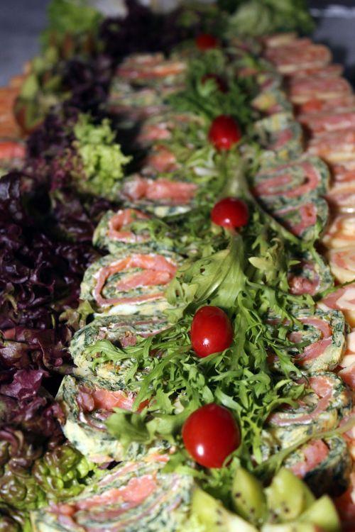 tomatoes salad buffet