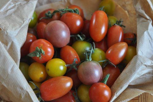 tomatoes cherry tomatoes heritage tomatoes
