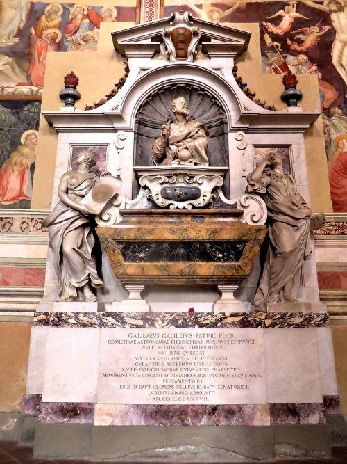 tomb galileo florence
