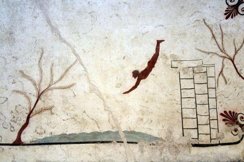 tomb museum paestum