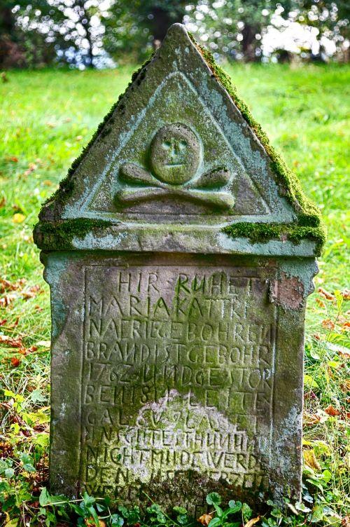 tombstone monastery old